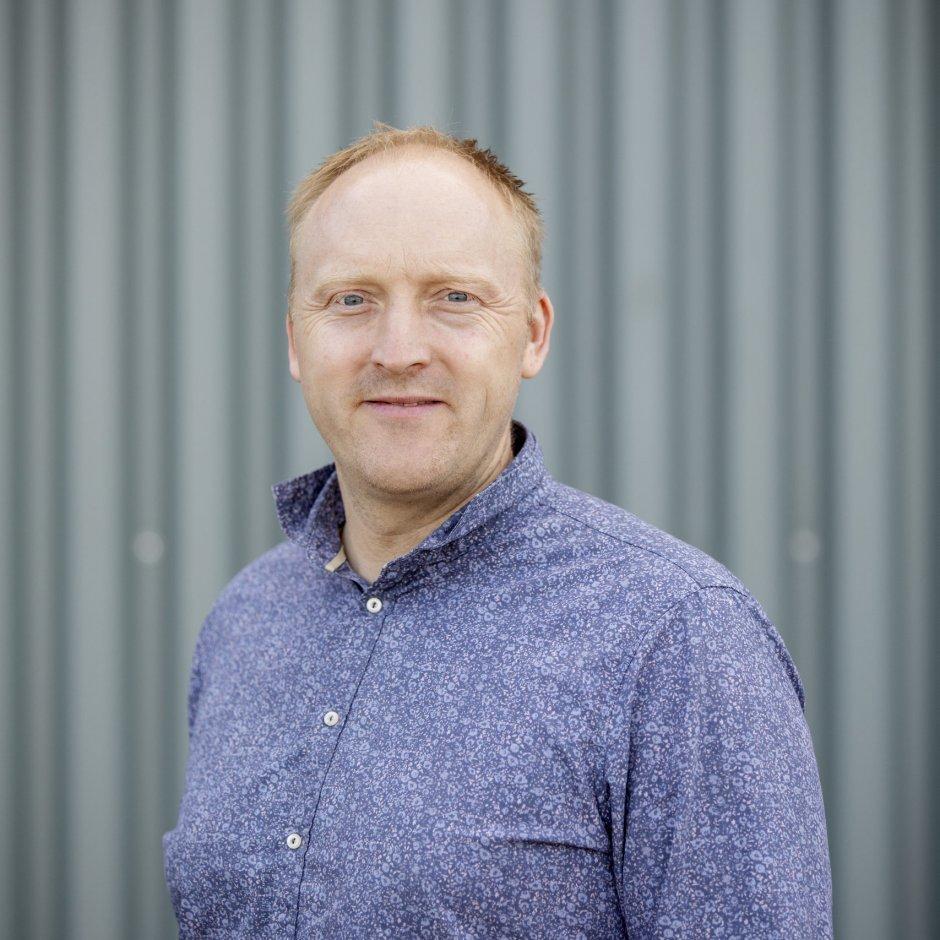 Willie Wågen. Sustainable Energy Norsk katapultsenter. Bilete av dei tilsette. Foto: MARIUS KNUTSEN / NCE MCT